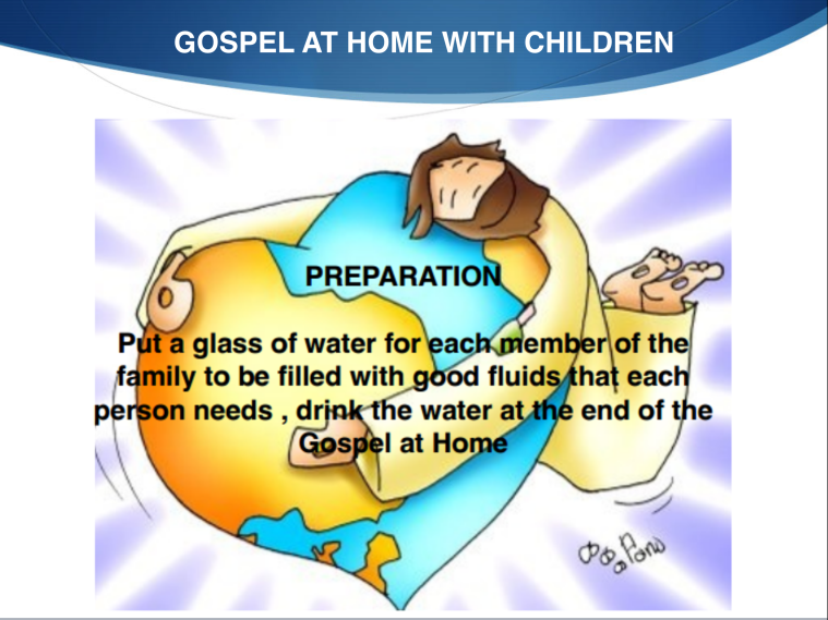 GOSPEL AT HOME - CYD 23 02-2