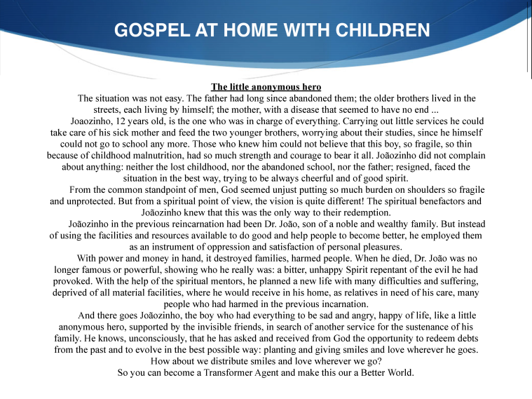 GOSPEL AT HOME - CYD 23 02-5