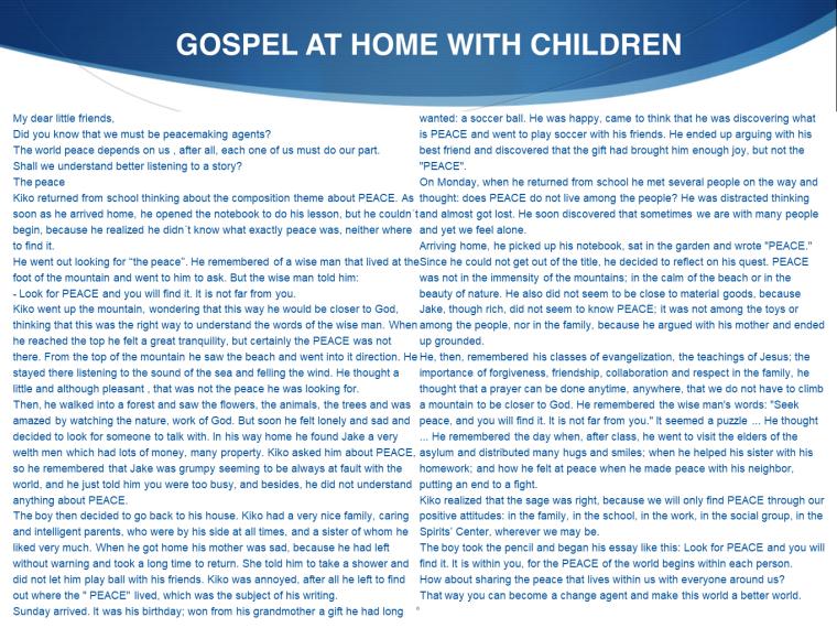 GOSPEL AT HOME - CYD 09 03-6